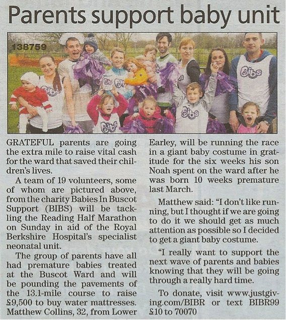 Reading Chronicle, 27th February 2014